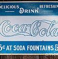 Vintage Coca Cola Ad by Les Palenik