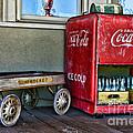 Vintage Coca-cola And Rocket Wagon by Paul Ward