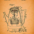 Vintage Coffee Maker Patent 1958 by Mountain Dreams
