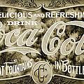 Vintage Coke by Ricky Barnard