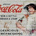Vintage Coke Sign by Jack Zulli