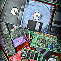 Vintage Computer Parts by Paul Ward