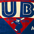 Vintage Cubs Spring Training Sign by Stephen Stookey