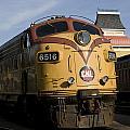 Vintage Diesel Locomotive by John Clark