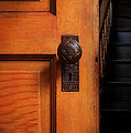 Vintage Door And Stairs by Jill Battaglia