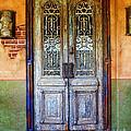 vintage door in Hico TX by Elena Nosyreva