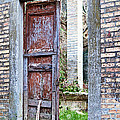 Vintage Doorway by Susan Schmitz