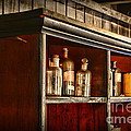 Vintage Druggist Shelf by Paul Ward