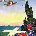 Vintage Easter Card by Munir Alawi