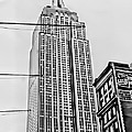 Vintage Empire State Building by Cathy Anderson