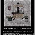 Vintage Enterprise Woodstove by Barbara Griffin