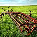 Vintage Farm Equipment I - Blue Ridge by Dan Carmichael