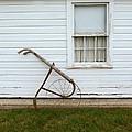 Vintage Farm Tool By Farmhouse by Jill Battaglia