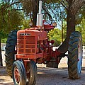 Vintage Farmall Tractor by Richard Jenkins