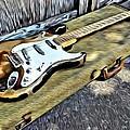 Vintage Fender Stratocaster by Florian Rodarte