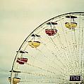 Vintage Ferris Wheel by Kim Hojnacki
