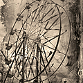 Vintage Ferris Wheel by Theresa Tahara