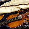 Vintage Fiddle In The Case by Wilma  Birdwell