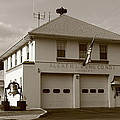 Congers, New York - Vintage Firehouse by Frank Romeo