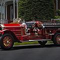 Vintage Firetruck by Susan Candelario