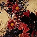 Vintage Floral Beauty  by Bobbee Rickard