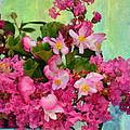 Vintage Floral by Carla Parris