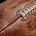 Vintage Football by Art Block Collections