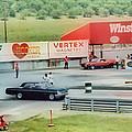 Vintage Ford Drag Racing by Thomas  MacPherson Jr