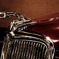 Vintage Ford Hood Ornament by Christiane Schulze Art And Photography