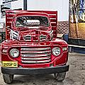 Vintage Ford Truck by Douglas Barnard