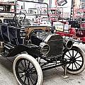 Vintage Ford Vehicle by Douglas Barnard