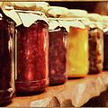 Vintage Fruit And Vegetable Preserves I by Georgiana Romanovna