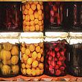 Vintage Fruit And Vegetable Preserves II by Georgiana Romanovna
