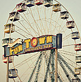 Vintage Funtown Ferris Wheel by Terry DeLuco