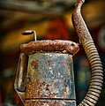 Vintage Garage Oil Can by Paul Ward