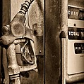 Vintage Gas Pump Showing Its Age by Paul Ward