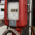 Vintage Gas Station Air Pump 1 by Paul Ward