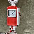Vintage Gas Station Air Pump 2 by Paul Ward