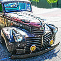 Vintage Gm Truck Frontal Hdr by Lesa Fine
