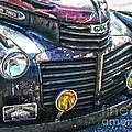 Vintage Gm Truck Hdr 2 Grill Art by Lesa Fine