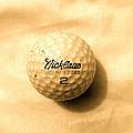 Vintage Golf Ball by Anita Lewis