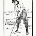Vintage Golfer 1900 by Ira Shander