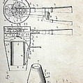 Vintage Hair Dryer Patent by Paul Ward