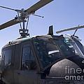 Vintage Helicopter by Brenda Kean