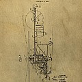 Vintage Helicopter Patent by Dan Sproul