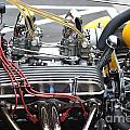 Vintage Hotrod Engine by Dean Ferreira