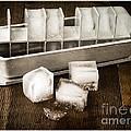 Vintage Ice Cubes by Edward Fielding