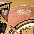 Vintage Indian Bike by Beach Bum Chix