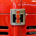 Vintage International Harvester Tractor Badge by Paul Ward