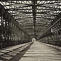 Vintage Iron Truss Bridge by Jaroslav Frank